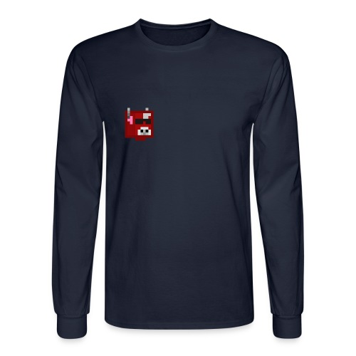 Gameraiders101 Long Sleeve : navy - Men's Long Sleeve T-Shirt