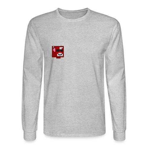 Gameraiders101 Long Sleeve : heather gray - Men's Long Sleeve T-Shirt