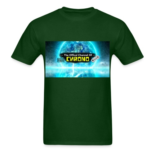Chrono banner logo - Men's T-Shirt
