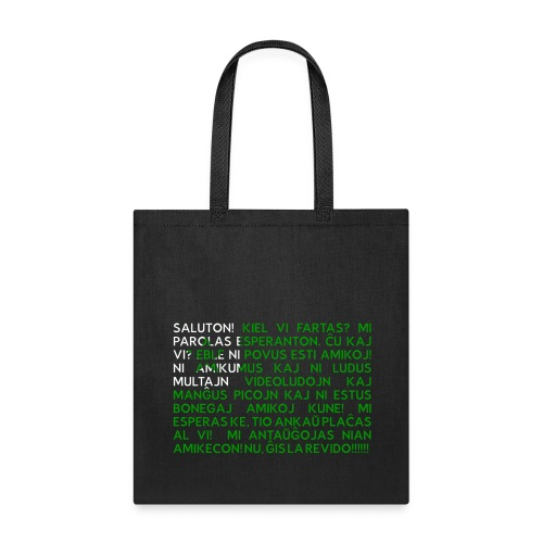 Standardteksto bag - Tote Bag