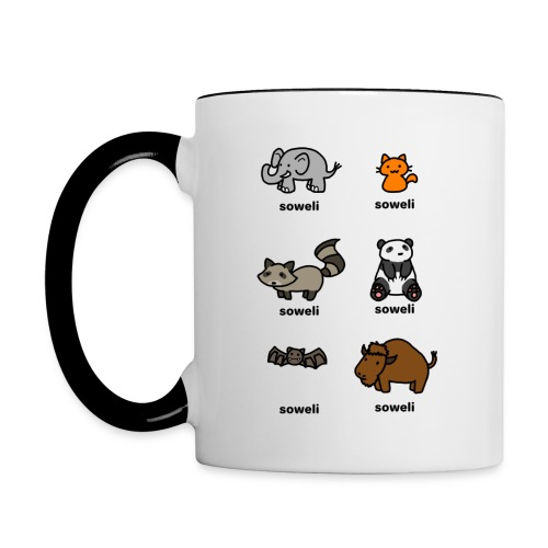 Soweli mug - Contrast Coffee Mug