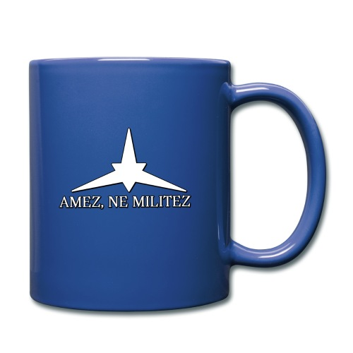 Amez, ne militez mug - Full Color Mug