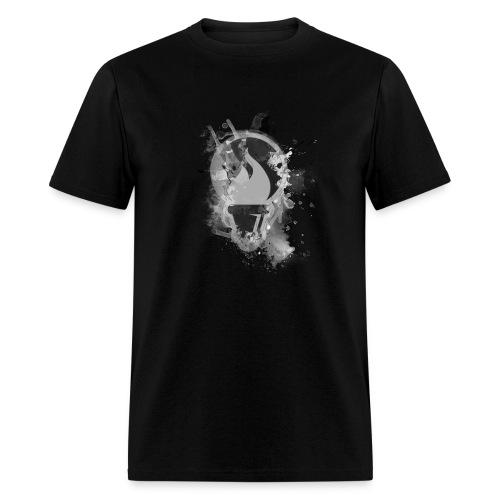 Lib Logo Grå - Men's T-Shirt