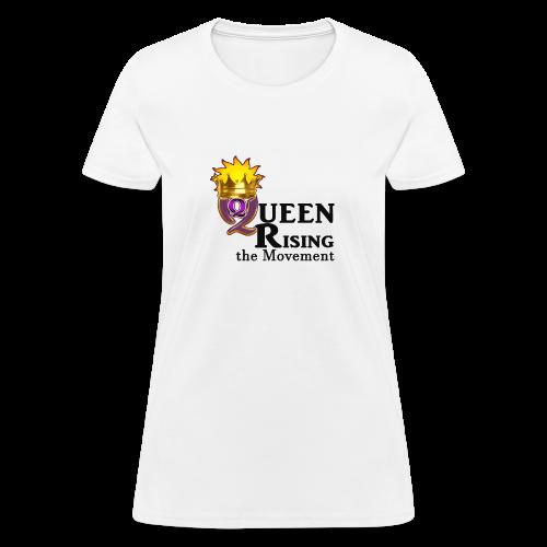 QUEEN RISING THE MOVEMENT OFFICIAL LOGO T-SHIRT - Women's T-Shirt