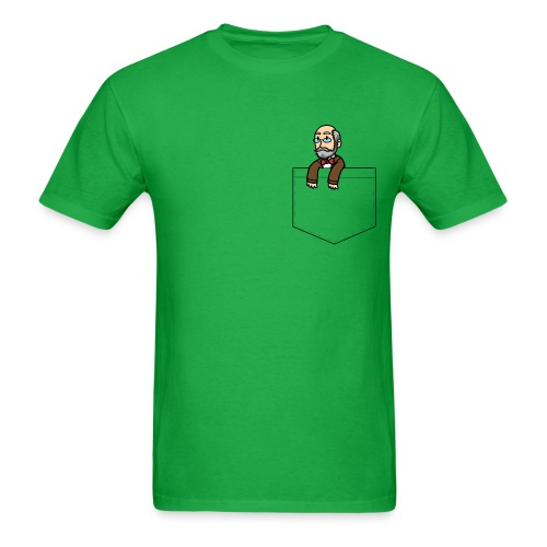 Pocket Zamenhof (Masculine) - Men's T-Shirt