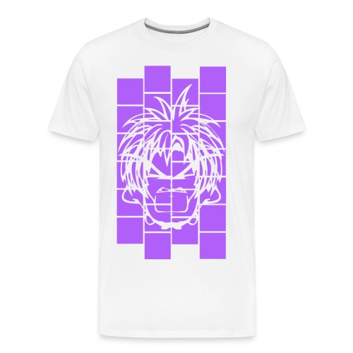 BFCC: Cube Lit Purple Prime - Men's Premium T-Shirt