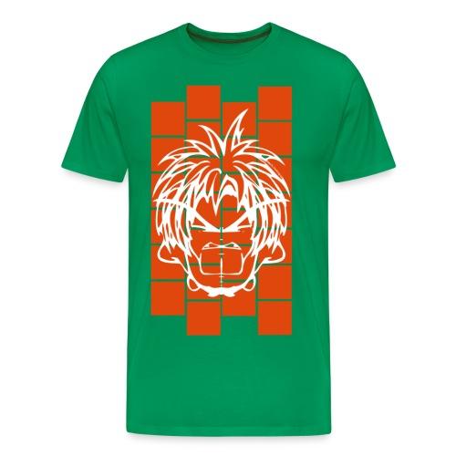 BFCC: Cube Lit Astro Orange - Men's Premium T-Shirt