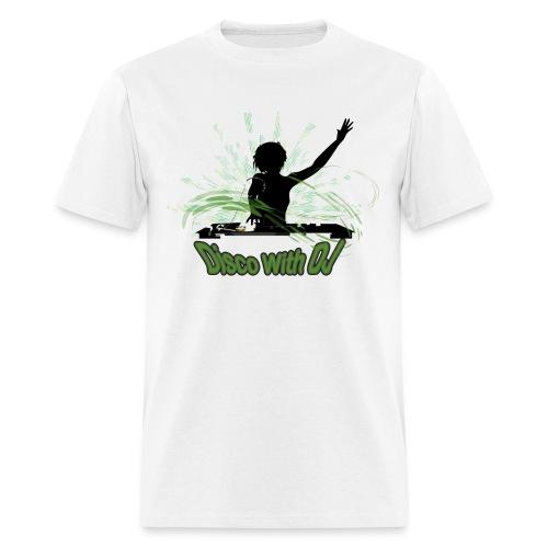 Disco With DJ - Men's T-Shirt