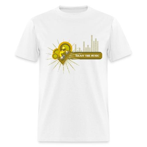 Enjoy The Music - Men's T-Shirt