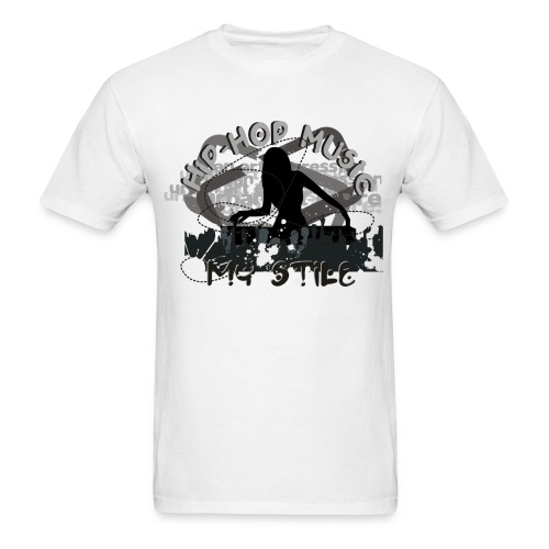 Hip Hop Music Is My Style - Men's T-Shirt