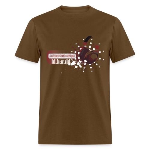 Listen Your Music - Men's T-Shirt