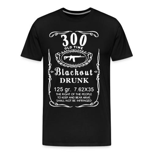 Blackout Drunk - Men's Premium T-Shirt