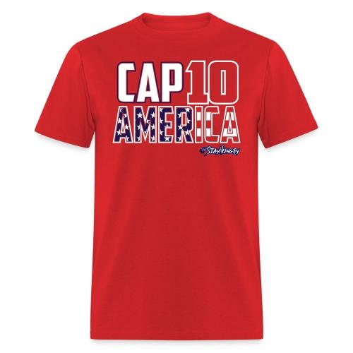 Cap10 America Shirt - Men's T-Shirt