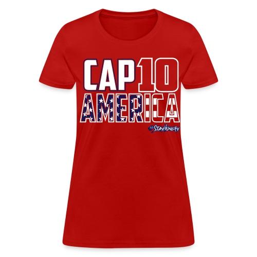 Cap10 America Shirt - Women's T-Shirt