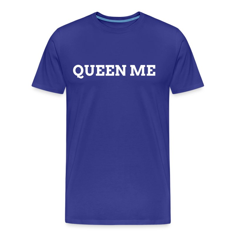 QUEEN BLUE - Men's Premium T-Shirt
