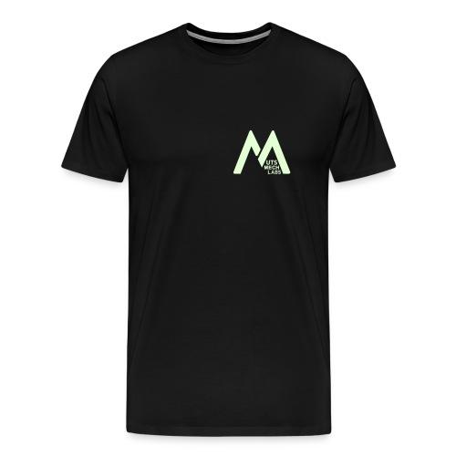 M labs F short - Men's Premium T-Shirt