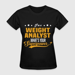 Weight Analyst - Women's T-Shirt