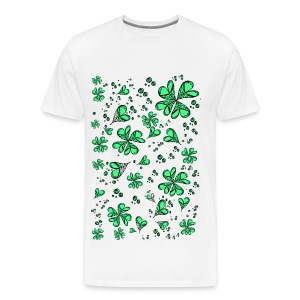 Luck on my side Men's Premium T-Shirt - Men's Premium T-Shirt