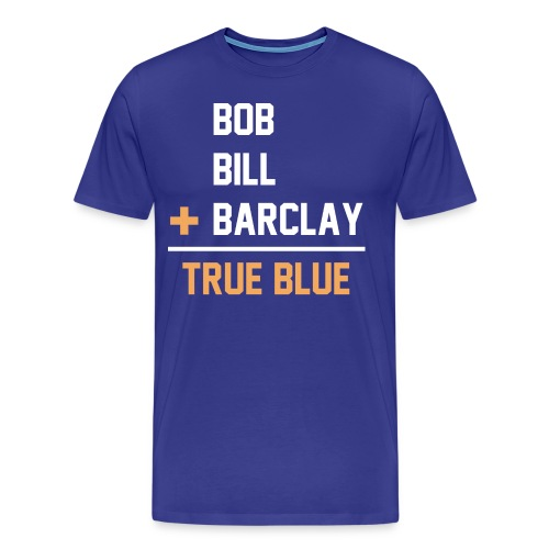 St. Louis Blues hockey Plager brothers - Men's Premium T-Shirt