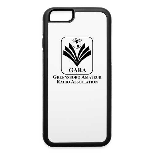 iPhone 6/6s Case with GARA Logo - iPhone 6/6s Rubber Case