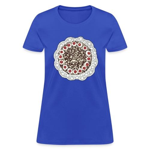 Cake on tshirt - Women's T-Shirt