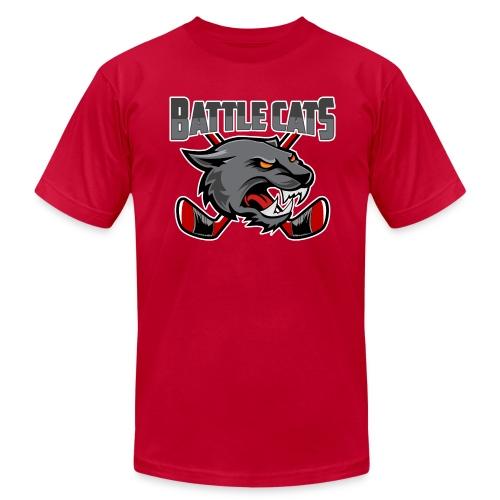 Battle Cat Pond Hockey T - Men's  Jersey T-Shirt