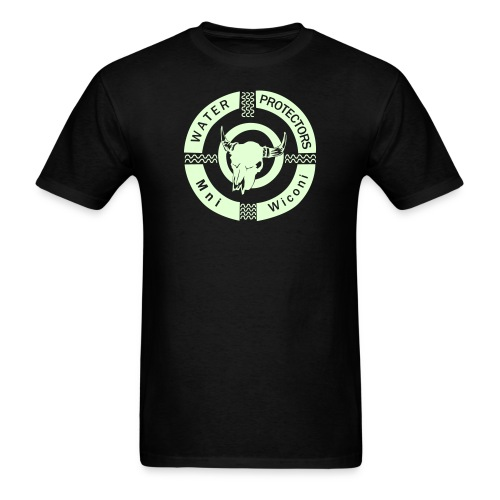 Water Protectors Mni Wiconi never forget - Men's T-Shirt