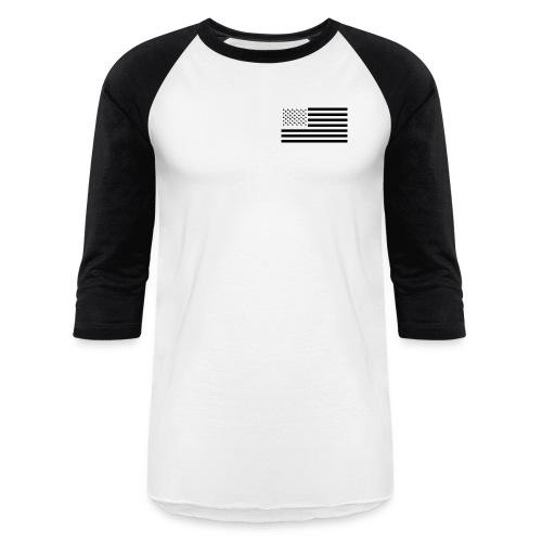 Rocket City AMPS Logo Baseball Shirt US Flag - Baseball T-Shirt