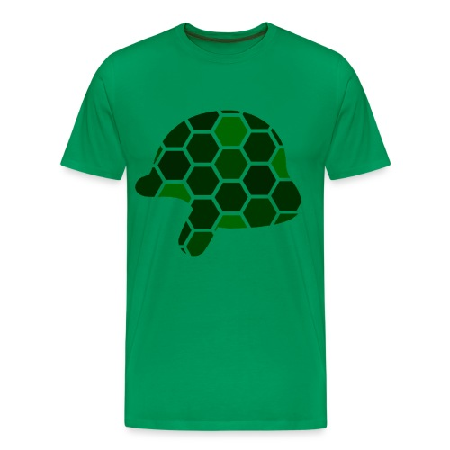 Large Helmet Logo - Men's Premium T-Shirt