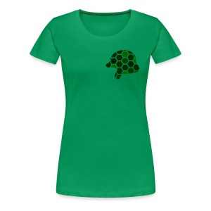 Pocket-Sized Helmet Logo - Women's Premium T-Shirt