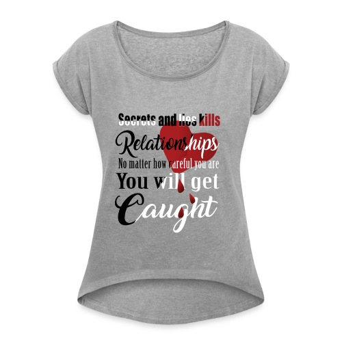 Women´s T-Shirt - Women's Roll Cuff T-Shirt