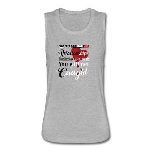 Women´s T-Shirt - Women's Flowy Muscle Tank by Bella