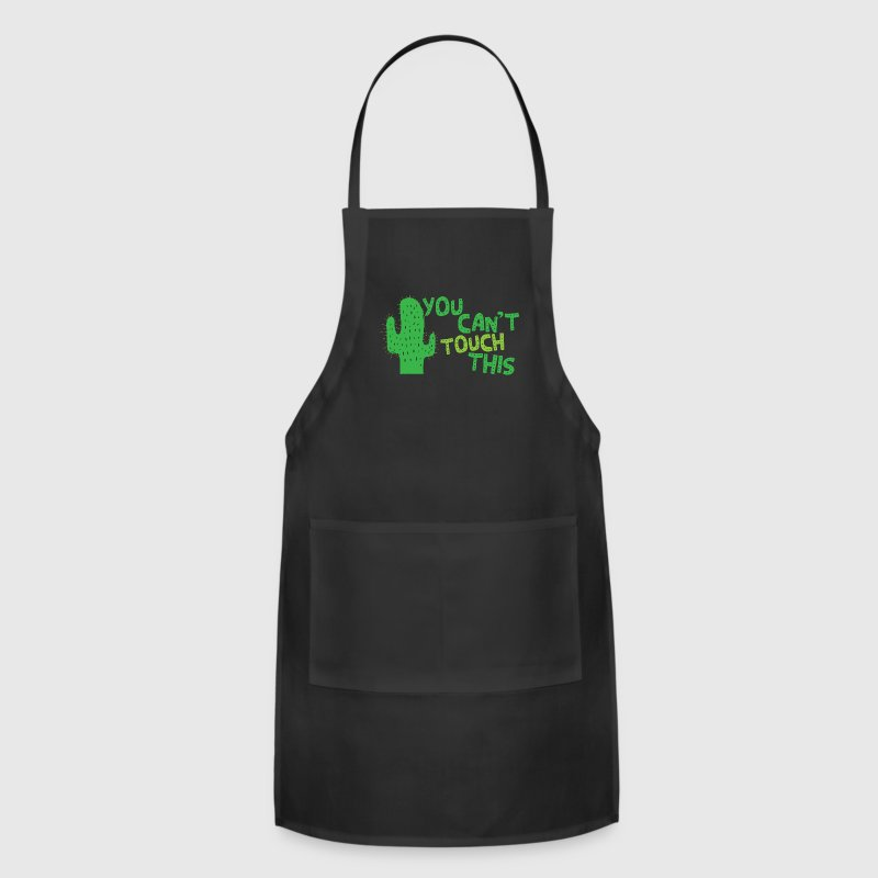 You cant touch this!  (spiked cactus) Aprons - Adjustable Apron