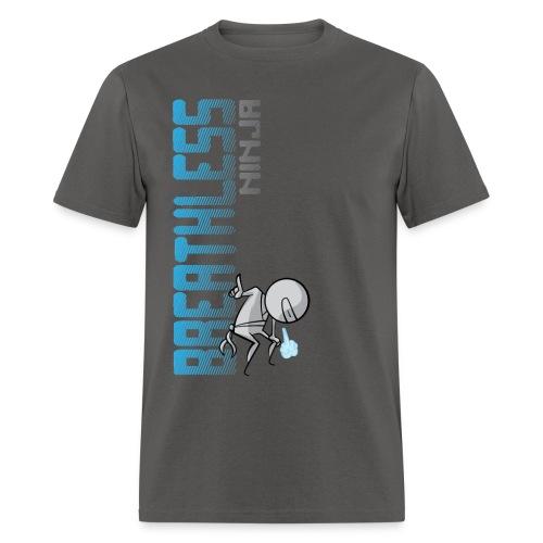 Breathless Ninja Men - Vertical - Men's T-Shirt