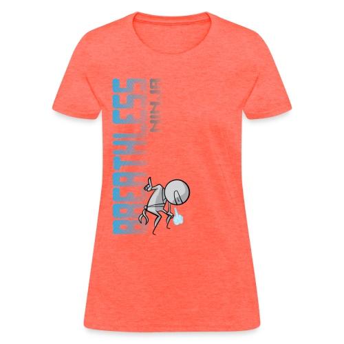 Breathless Ninja Women - Vertical - Women's T-Shirt