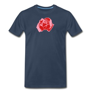 Lil Pink Rose - Men's Premium T-Shirt