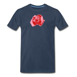 Lil Pink Rose - Men's Premium T-Shirt