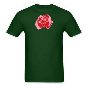 Lil Pink Rose - Men's T-Shirt