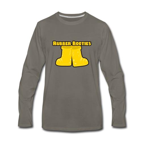 Rubber Booties - Men's Premium Long Sleeve T-Shirt