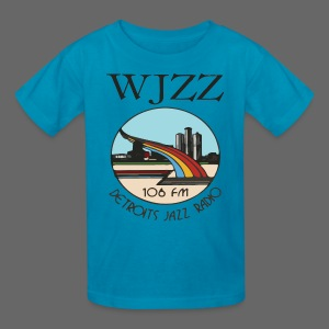 WJZZ 106 FM Detroits Jazz Radio - Kids' T-Shirt