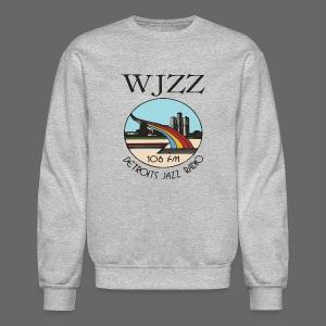 WJZZ 106 FM Detroits Jazz Radio - Crewneck Sweatshirt