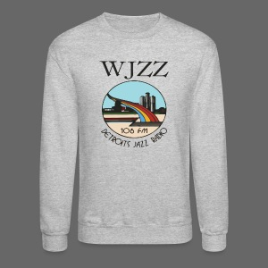 WJZZ 106 FM Detroits Jazz Radio - Crewneck Sweatshirt