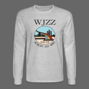 WJZZ 106 FM Detroits Jazz Radio - Men's Long Sleeve T-Shirt