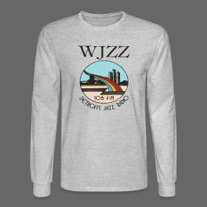 WJZZ 106 FM Detroits Jazz Radio - Men's Long Sleeve T-Shirt