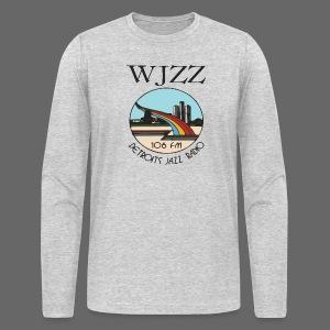 WJZZ 106 FM Detroits Jazz Radio - Men's Long Sleeve T-Shirt by Next Level