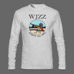 WJZZ 106 FM Detroits Jazz Radio - Men's Long Sleeve T-Shirt by Next Level