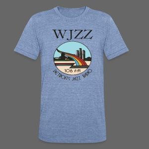 WJZZ 106 FM Detroits Jazz Radio - Unisex Tri-Blend T-Shirt