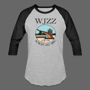 WJZZ 106 FM Detroits Jazz Radio - Baseball T-Shirt