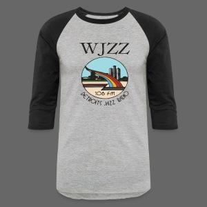 WJZZ 106 FM Detroits Jazz Radio - Baseball T-Shirt