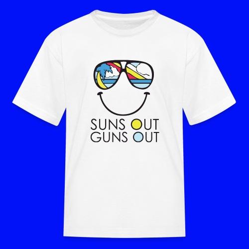 Suns out guns out - Kids' T-Shirt